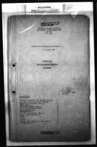 WWII OSS Art Looting Investigation Reports