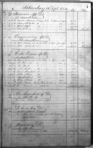 Deseret Iron Company Account Book (UT)