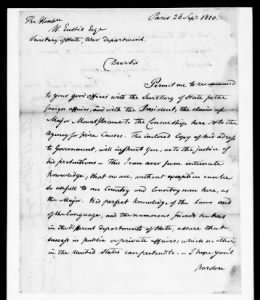 Letters Received by the Adjutant General, 1805-1821
