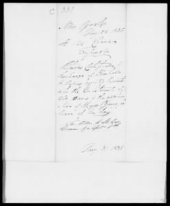 Letters Received by the Adjutant General, 1822-1860