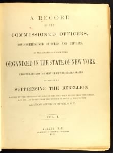 New York Civil War Regiment Lists