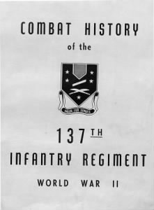 137th Infantry Unit Records
