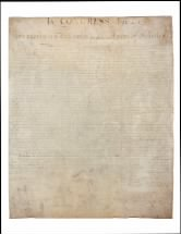 The unanimous Declaration of the thirteen united States of America
