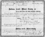 Marriage of Robert W. Clendenning and Nancy Lawrence