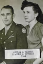 Warren Henry Taylor & Amelia Grace Wargoski Courtship and Wedding