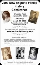 New England Family History Conference
