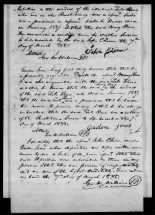 Revolutionary War Pension Application of Zely and Mary Reno