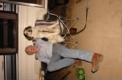 Photos of Dick Tippets & partner Sampson (the pooch)