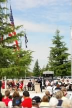 Memorial Day Ceremony, Gridley CA, 2008