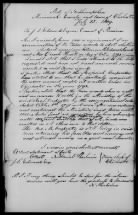 Mining Revolutionary War Pensions: Marriage Record Copy - Challenge for African American Widow