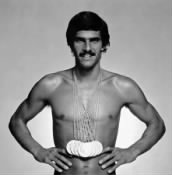 Mark Spitz and Michael Phelps