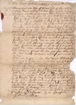 Salem Witch Trials: Rebecca Town Nurse's death warrant