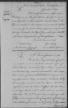 "Continental Congress - Papers: Francis Marion aka ""The Swamp Fox"""