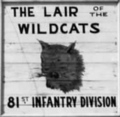81st Infantry Division (Wildcats) World War 2