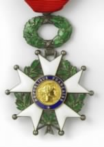 Ellis T. Booth - French-Legion-of-Honor Award
