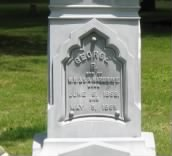 FAMILY BURIALS AT EQUALITY VILLAGE CEMETERY