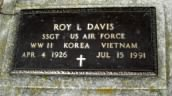 SSgt Roy Lee Davis Air Force