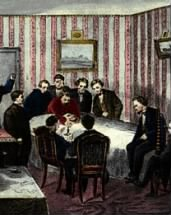 The Death of Abraham Lincoln at the Petersen House