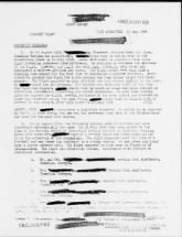Project Blue Books: Redacted Material, or Not
