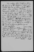 Revolutionary War Pensions: Church Information