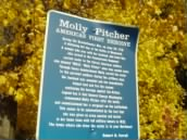 Molly Pitcher, a heroine