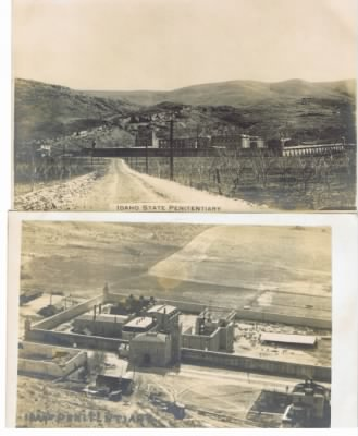 The Old Idaho Penitentiary-Home to Harry Orchard
