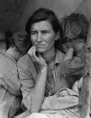 Pictures of Great Depression