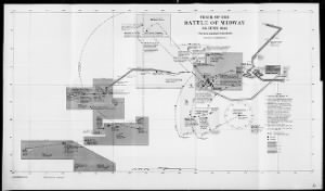 Fold3 Image - Map of the Battle of Midway