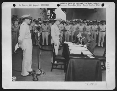 surrender wwii picture