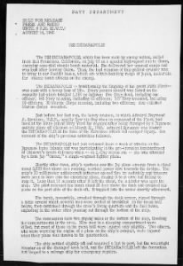 Fold3 Image - First page of summary of USS Indianapolis's service