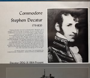 Stephen Decatur short bio