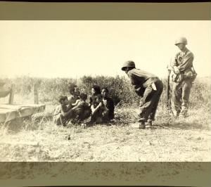 Fold3 Image - Nisei army interpreter talks with Japanese family