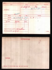 Fold3 Image - Example of a WWI Medal Roll Index Card