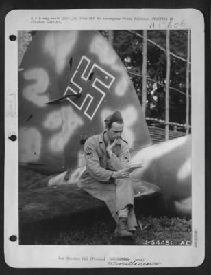 Voting on a Downed Nazi Plane
