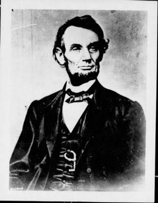 Photo of President Lincoln