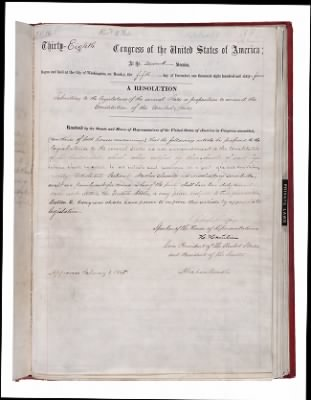 Abolition of Slavery Document