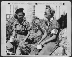 Two nurses in the Admiralty Islands