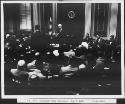 Page 1; Selected Photographs of Dwight D. Eisenhower, 1943-1961
