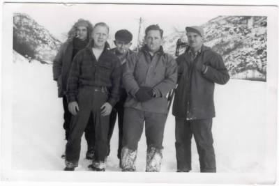 Workmen: Alaska Highway 1943-44