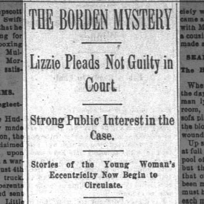 Lizzie Pleads Not Guilty in Court.