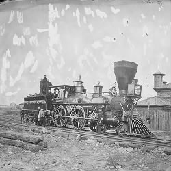 U.S. Military Rail Road Engine #133
