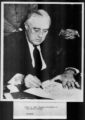 Page 1; Selected Photographs of Franklin D. Roosevelt, 1913-1945