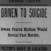 Driven to Suicide- Small town newspaper
