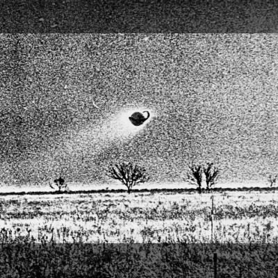 UFO or Photographic anomaly?