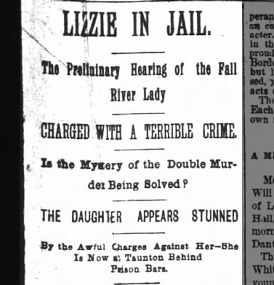 Lizzie in Jail